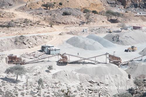 Industrial landscape near Mekele