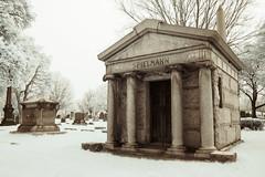Spielmann (Adventures in Infrared) (Torsten Reimer) Tags: grass olympusepl5 mausoleum friedhof northamerica chicago cemetery rosehillcemetery infrared graveyard grabsteine usa illinois gravestones grabmal infrarot unitedstatesofamerica memorial unitedstates us