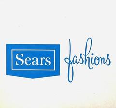 Sears Fashions logo - 1960s (hmdavid) Tags: sears fashions hat box logo midcentury script 1960s