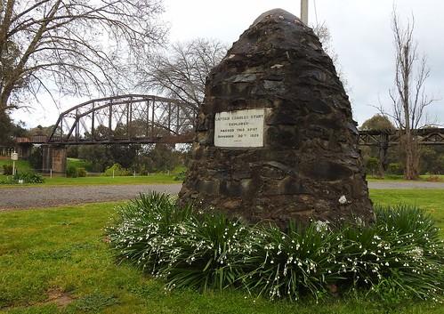 Capt. Charles Sturt passed this spot 1829