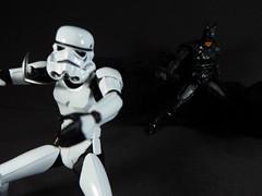 """Oh shit...."" (Matheus RFM) Tags: batman injustice shfiguarts bandai kaiyodo revoltech stormtrooper starwars"