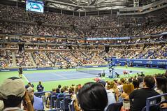 US-Open-2016-29 (fabergtourexperience) Tags: usopen tennis new york usa arthur ashe stadium stanislaswawrinka stan wawrinka novakdjokovic djokovic experience sporting events sunset sunny day