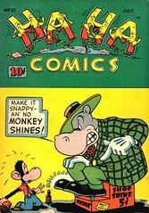 Ha Ha 10 (Michael Vance1) Tags: comics comicbooks cartoonist funnyanimals fantasy funny humor goldenage art artist anthology