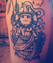 Elewa otra Diosa #orishas . Diseño personalizado. #pisean #tatoo #tattoos #brocoliestudio #elewa #blancoynegro #tattoogirl #character #characterdesign #chile #tatuaje #best