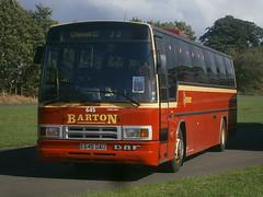 645 @ Donington Park (ianjpoole) Tags: bartons daf mb230 plaxton paramount e645dau 645 showbus 2016 donington park
