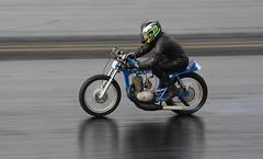 Greeves (Fast an' Bulbous) Tags: bike biker moto motorcycle fast speed power motorsport acceleration drag strip race track nikon d7100 gimp santa pod england extremebikeweekend