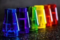 Lego In a Row (Cajofavi) Tags: macromondays inarow lego colors rainbowcolors