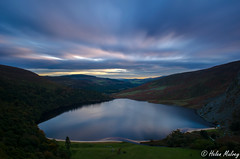 Lough Tay 19 October 16 1 (Helen Mulvey) Tags: lough tay wicklow ireland rural landscape cloud movement nikon d5100 water lake height sunset dusk view