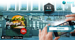 Augmented Reality for Local Businesses (roaraugmented) Tags: augmented reality restaurant technology brand content mobile smart phones digital marketing business