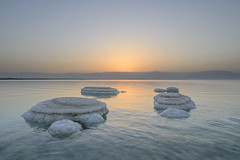 Dead sea sunrise (Ran Z) Tags: deadsea israel rocks salt sigma20f14 sunrise ranzisovitch beautiful landscape pretty scenery water