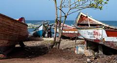 EL TRABAJO - WORK (alfonsomejiacampos. PLEASE READ MY PROFILE) Tags: agueda reparacin recuperacin botes puertodevaldez porlamar islademargarita venezuela