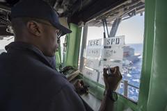 161024-N-JS726-036 (U.S. Pacific Fleet) Tags: navy marines amphibiousassault southchinasea bonhommerichard expeditionarystrikegroup underway deployment military replenishmentatsea ras navigation