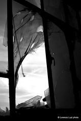_DSC2153 (Lorenzo Luzi) Tags: allaperto blackandwhite blancoynegro noiretblanc decay abandonedplace abandoned factory lluziph bianconero light luci silhouette broken urban urbanexplorer giocodiluci ombre ombra dark
