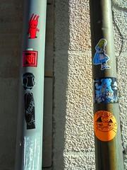 Hana Log STICKING with mc1984 and GLC.... (mc1984) Tags: mc1984 flickr streetart painting
