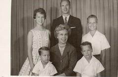 Family home from Brazil (kellytenney) Tags: mikkelsen july 4th 1961 duane magaret marcia craig kent rob robert