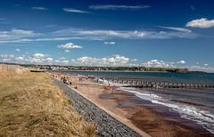 Dawlish Warren (SKAC32) Tags: dawlishwarren beach dunes bluesky cloud groynes sea lymebay englishchannel exmouth erosionprotection orcombepoint eastdevon teignbridge hightide swengland polariserfilter