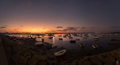 Sancti Petri eterno (asidonian) Tags: sanctipetri chiclana cadiz boat fishing sunset landscape panorama background peace sky bluesea barco pesca atardecer paisaje panoramica paz cielo azul mar nikon d750 tamron 1530