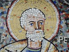 Detail wall, Biserica SF. Nicolae Manea Brutaru (Miranda Ruiter) Tags: iconography icons religion church orthodox bucarest romania mosaic detail