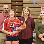 LEHS Varsity Volleyball-Senior Night-10-18-16