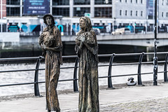 FAMINE MEMORIAL AT CUSTOM HOUSE QUAY IN DUBLIN [ARTIST - ROWAN GILLESPIE]-122173 (infomatique) Tags: famine greathunger faminememorial customhousequay northwall dublin ireland infomatique williammurphy rowangillespie