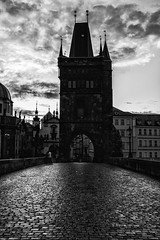 _MG_5577fb (Mary Ann Guier Photography) Tags: prague praga city outdoor charlesbridge blackandwhite