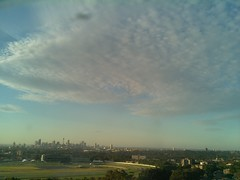 Sydney 2016 Oct 25 18:38 (ccrc_weather) Tags: ccrcweather weatherstation aws unsw kensington sydney australia automatic outdoor sky 2016 oct evening