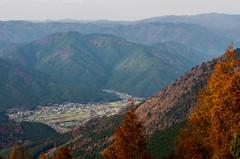 Ohara country side from Mt. Shimegadake (nack74_sg) Tags: mountain kyoto      mthiei