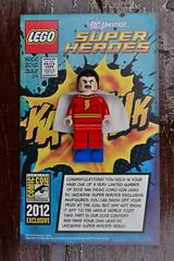 2012 SDCC Lego Shazam (jessiebel) Tags: lego superheroes comiccon shazam sdcc legominifigure minifigure legosuperheroes sandiegobrick legoshazam 2012legosdccshazam