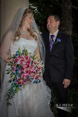 Jennifer & Stephen's Wedding (AJ Hége Photography) Tags: flowers wedding portrait people love smile canon happy prime dress florida union ceremony marriage humans 2014 ajhegephotography ajhégephotography