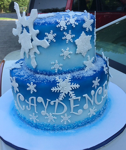 """One of many Frozen inspired birthday cakes • <a style=""""font-size:0.8em;"""" href=""""http://www.flickr.com/photos/50891271@N03/15725518104/"""" target=""""_blank"""">View on Flickr</a>"""