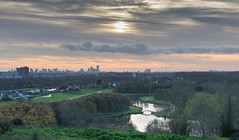 Nice day in the big city. (www.mroosfotografie.nl) Tags: city trees sun nature netherlands clouds landscape big nice rotterdam day mood autum little 2014 d600 wwwmroosfotografienl