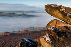 The Roaches ( Scott Pepper ) Tags: fog 35mm landscape nikon rocks frost derbyshire hill nikkor afs dx roaches d5000 f18g