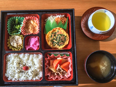 Bento Box for lunch (marc_buehler) Tags: food japan tokyo ibarakiken tsuchiurashi