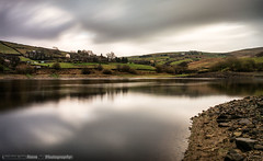 4498 Leeming Reservoir (Steve Swis) Tags: uk longexposure november autumn england water europe bradford britain yorkshire 2014 leemingreservoir samsungnx20
