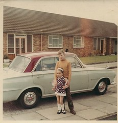 Carol And Pete (Peter J Dean) Tags: old family london car dean victor grandparents carol pete 1968 hayes bungalow vauxhall westbourneclose