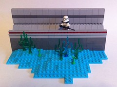 Manaan Watch Post (tyfighter07) Tags: ocean storm trooper water starwars underwater lego under stormtrooper moc manaan brickbuilder7