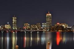 Boston Skyline from Memorial Drive.