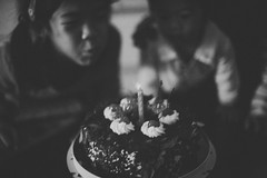 IMG_5462 (iriswins) Tags: birthday party bw cake ben faith