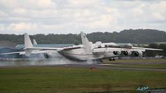UR-82060 An-225 Mriya Antonov Design Bureau (kw2p) Tags: scotland unitedkingdom aircraft prestwick prestwickairport egpk antonovdesignbureau ur82060 an225mriya egpkpik cn19530503763
