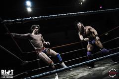 Danny Jones vs Saul Adams 2 (riotduck) Tags: justin storm dave ian cub panda williams adams wrestling mastiff cardiff vertigo pro jonny saul vpw wonderkid sysum