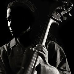 Abdullah Ibrahim quartet (Gaetano Pezzella) Tags: portrait blackandwhite concert live jazz bassist ibrahim abdullah afrojazz