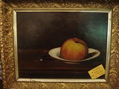 """FRUIT STILL LIFE OIL PAINTING • <a style=""""font-size:0.8em;"""" href=""""http://www.flickr.com/photos/51721355@N02/16043958464/"""" target=""""_blank"""">View on Flickr</a>"""