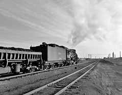Sandaoling Xinjiang China 20th November 2014 (loose_grip_99) Tags: china railroad industry train blackwhite asia industrial noiretblanc transport atmosphere rail railway trains steam mining transportation xinjiang coal railways js 282 washery 8167 gassteam sandaoling