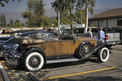 Classics at the Beckham Grill (dmentd) Tags: sport 1932 deluxe eight packard phaeton 903