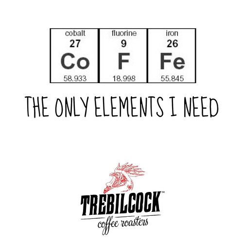 Co F Fe: The only elements I need