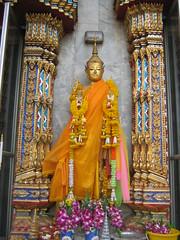 Standing Buddha Golden Mount Bangkok