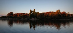 Dangan, Co. Galway (hehirnatalie) Tags: autumn ireland castle galway beautiful canon river evening scenery corrib calm 2014 1100d