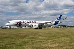 F-WZNW Airbus A350-900 (Aerostat Pilot) Tags: airbus farnborough qatarairways airbusindustrie a350 a350900