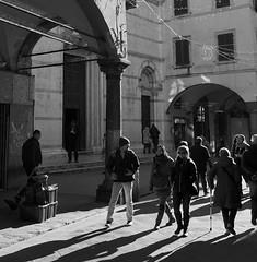 Pisa (pineider) Tags: italy calle europa europe strada italia euro via pisa e topless avenue bianco borgo nero stretto