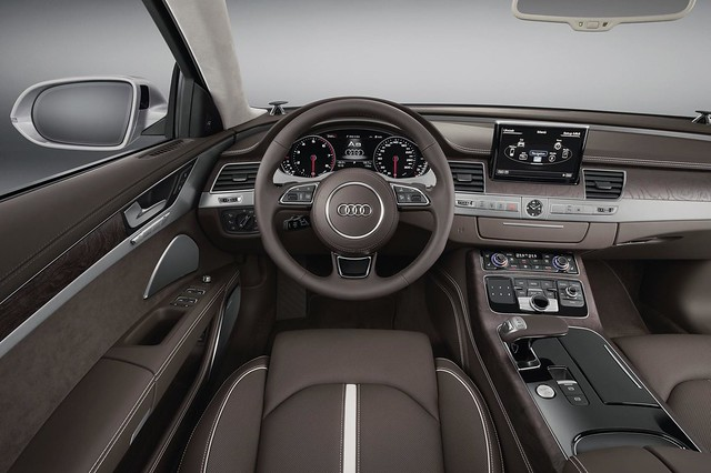 sedan interior audi s8 2015